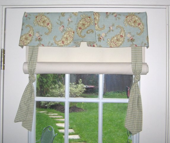 stagecoach shade with valance
